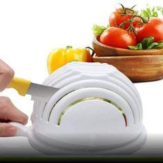 Salad Chopper Bowl, Fruit Fast, Salad Recipes, Vegan Recipes, Salad Maker, Vegetable Bowl, Chopped Salad, How To Make Salad, Salad Bowls