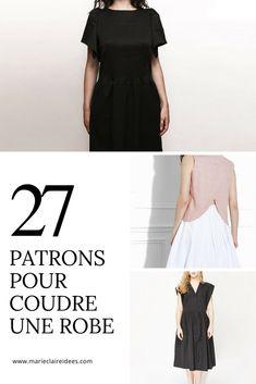 Patrons pour coudre une robe / sewing patterns dress / patrons robes louis antoinette paris