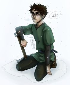 Icebound Will by SixofClovers.deviantart.com on @DeviantArt -- There goes my heart. :'( I cried so much when this happened.