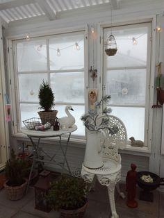 Greenhouse wintertime