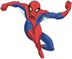 Spiderman from Marvel Amazing Spiderman, Black Spiderman, Marvel And Dc Superheroes, Marvel Cartoons, Spiderman Drawing, Spiderman Art, Spider Man Animated Series, Best Marvel Characters, Terror Movies