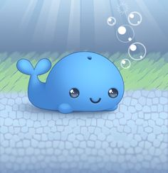 Whales are so adorable. :D  Google Image Result for http://im.glogster.com/media/7/40/47/57/40475792.jpg