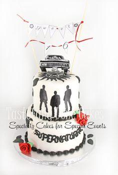 Supernatural Cake 2 tier