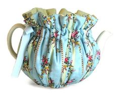 Robin's Egg Blue tea cozy