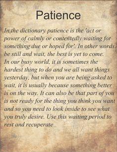 Patience http://www.whisperingangels.co.za