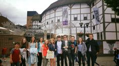 The PurpleCoat Youth Theatre at Shakespeare's Globe Happy Moments, Theatre, Globe, That Look, Youth, It Cast, Street View, In This Moment, Balloon