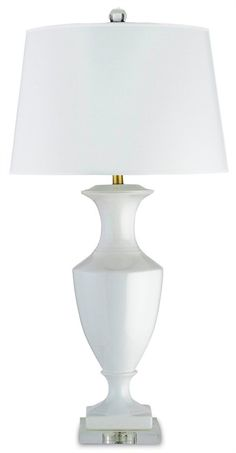 Stonecreek metal table lamp timeless table lamp white mozeypictures Images