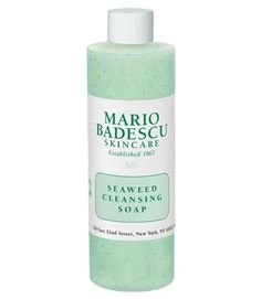 Mario Badescu Seaweed Cleansing Soap- I only had a sample packet