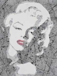 Marilyn Monroe More artwork at www.facebook.com/urbanexpressionist