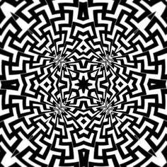 Loving making these folded kaleidoscopic patterns 😊 #digital #digitalart #illustrator #geometric #geometry #vector #art #design #pattern #swastika #symmetry_art