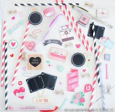 Valentine's Day decor and crafts from Target! Kara Allen | Kara's Party Ideas for Target One Spot #OneSpotValentine