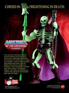 "Masters of the Universe Classics ""Scareglow"""