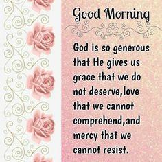 Goeie Nag, Goeie More, God, Dios, Praise God, The Lord