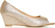 glittery wedges - Google Search