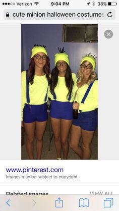 150 College Halloween Costume Ideas that will Make you Nail the Costume Game - Halloween costumes - Halloween costumes diy Minion Costumes, Game Costumes, Costume Ideas, Diy Costumes, Starbucks Halloween Costume, Hallowen Costume, Best Friend Halloween Costumes, Couple Halloween, Halloween Ideas