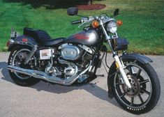 Image result for black harley fxs low rider