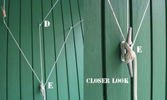 How To String A Better Clothes Line: Don't Let Your Cloths Get Rained On | Fun In The Making