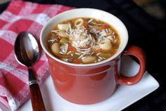 BS Recipes: Meatball Minestrone Soup