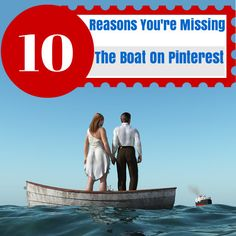 10 Reasons You're (might?) Missing the Boat on Pinterest  Pinterest referrals spend 70% more than visitors referred from non-social channels, including search.