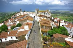8. Take in views of the Portuguese countryside in Monsaraz, an ancient village with whitewashed houses, cobbled streets, and a castle.