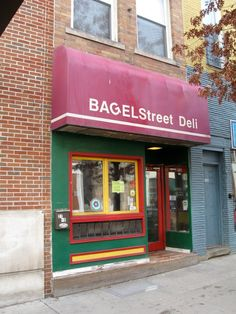 You'll never eat a bagel the same again after you experience what a bagel can truly be, thanks to this unique deli in Athens, which features several signature bagel sandwiches. The seating is limited, but that doesn't stop locals and visitors from squeezing in—especially during Picklefest, as pictured. Bagel Street Deli is located at 27 S Court St., Athens, OH 45701.
