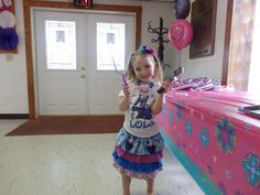 FROZEN BIRTHDAY outfit!