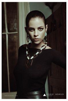 Eddie Borgo FW13 Campaign - Paul Maffi - Julia Restoin Roitfeld