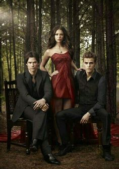 The Vampire Diaries | Damon, Elena and Stefan - Season 2