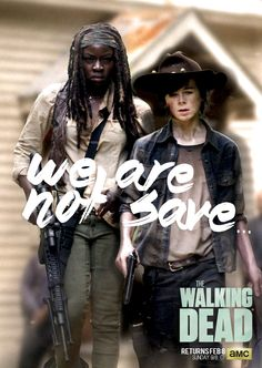Poster The Walking Dead - We Are ... Carl-Michonne by TavoFones17 on DeviantArt