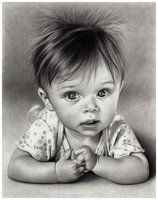 Children and baby pencil portraits by imaginee on deviantART