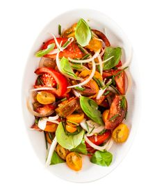 Tomato and Sweet Onion Salad   32 Delicious Sides For Summer Picnics
