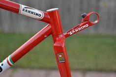 1984 Sannino Pursiut lo pro track bike frame set Takhion style 650c 700c