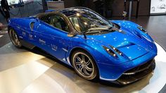 If a hard-to-pronounce name defines a hypercar, the beautiful Pagani Huayra is in first place. It's ... - Pagani