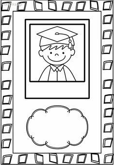 Graduation Crafts, Pre K Graduation, College Graduation Pictures, Kindergarten Graduation, Kindergarten Crafts, Kindergarten Worksheets, Orla Infantil, Promotion Card, Scrapbook Cover