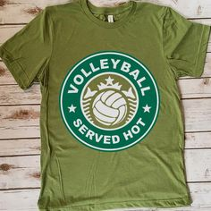 volleyball volleyball served hot shirt 157 Great volleyball t shirt/mug/bag gift for family, friends, volleyball players, volleyball lovers or any women, men, girls, boys you know who loves volleyball. - get yours by clicking the link in my profile bio. Volleyball Serve, Volleyball Players, Volleyball Pictures, Great T Shirts, Gifts For Family, Boys, Girls, Profile, Lovers