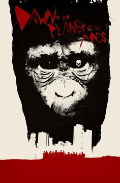 Dawn of the Planet of the Apes by Jay Shaw