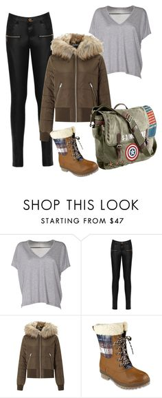 """Untitled #22"" by alessiabazzurro on Polyvore featuring Acne Studios, WearAll, Miss Selfridge, London Fog and Marvel"