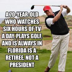 Always vacationing/failing Donald Trump Caricatures, Mafia, Political Views, Play Golf, Satire, Presidents, Jokes, America, Shit Happens