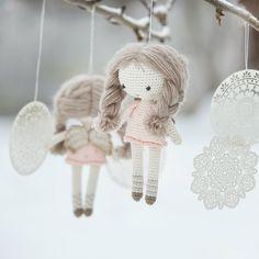 Little angel doll amigurumi pattern by lilleliis