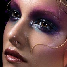 Marika D'Auteuil , Makeup Artist Model: l Audrey @ Montage Models   Photo by Alexandre Paskanoi Hair by Stephane Scotto Di Cesare