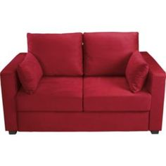 Apartment Fabric Metal Action Sofa Bed Red At Argos Co Uk