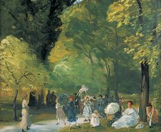 Little May Day Procession, William Glackens. American Ashcan School Painter…