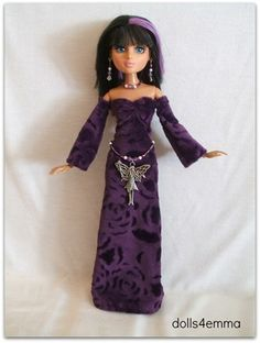 FAIRY DREAMS - Medieval Gown and Jewelry Set for Moxie Teens doll on eBay - by DOLLS4EMMA $19.99