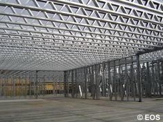 Framing Gallery Steel Frame House, Steel House, Flat Roof Construction, Warehouse Design, Still Frame, Frame Light, Steel Structure, Civil Engineering, Around The Worlds
