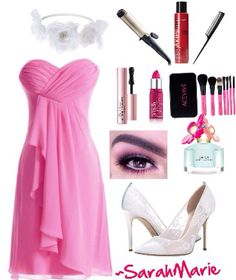 Pretty in pink! ~polyvore