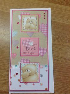 Forever friends bears DL card
