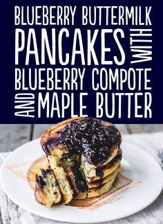 27 Pancakes Worth Waking Up For: PANCAKES! PANCAKES! PANCAKES! PANCAKES!! Recipes are included! Thanks @Karen Datangel! <333