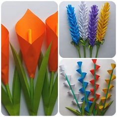 Ideas Diy Decorao Spring Mom For 2019 Paper Flowers For Kids, Tissue Paper Flowers, Diy Flowers, Crafts For Teens, Diy And Crafts, Origami Paper Art, Paper Mache Crafts, Mothers Day Crafts, Flower Tutorial