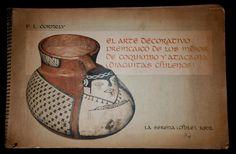 """Dieguietas, Chile.   F. L. Cornely, """"El arte decorativo preincaico de los indios de Coquimbo y Atacama (diaguitas chilenos). La Serena, Chile, 1962."""