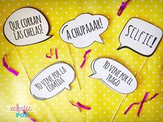 Frases para Photobooth - Eclectic Pop  #eclecticpop #eventos #photobooth #photocall #props #lima #peru #frases: